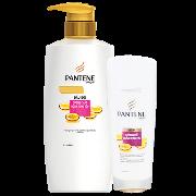 Bộ PANTENE ngăn rụng tóc (Dầu Gội 670g+Dầu Xả 165g)