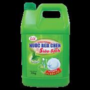 Nước rửa chén LIX siêu sạch hương trà xanh 4kg
